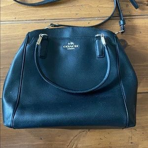Black Coach purse/with wallet